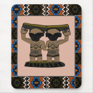 Tribal effigy - Aftrican Art Mouse Pad