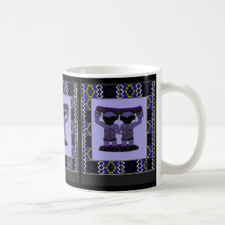 Tribal effigy - Aftrican Art Classic White Coffee Mug