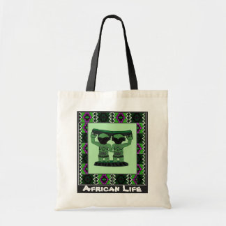 Tribal effigy - Aftrican Art Tote Bag