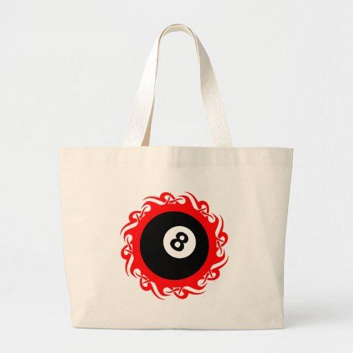 tribal eightball canvas bags