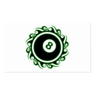 tribal eightball business card