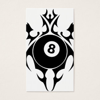 tribal eightball business card