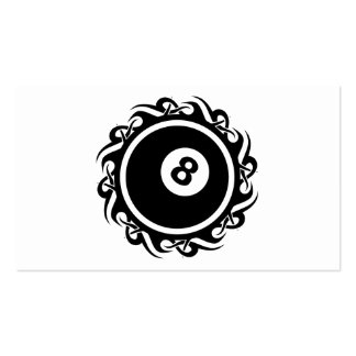 tribal eightball business card templates