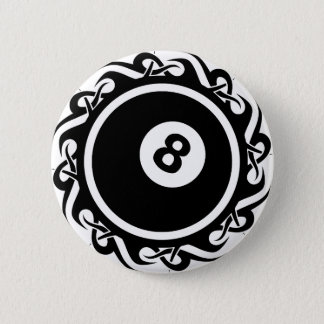 tribal eightball button