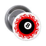 tribal eightball buttons