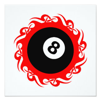 tribal eightball card