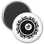 tribal eightball magnet