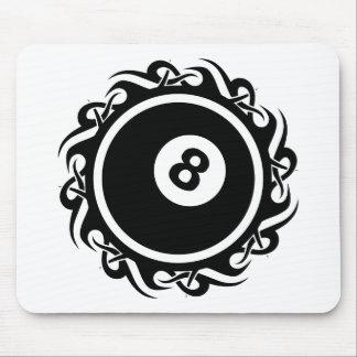 tribal eightball mouse pad