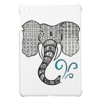 Tribal Elephant  iPad Mini Case Glossy Finish