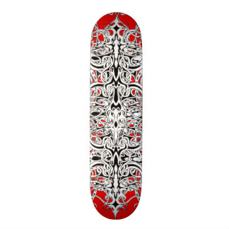 Tribal Empire Tattoo Skateboard