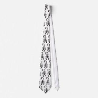 tribal-escorpión, tribal-escorpión, tribal-scorpi… corbata personalizada