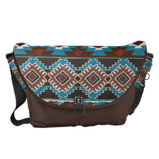 tribal, étnico, modelo bolsa de mensajeria