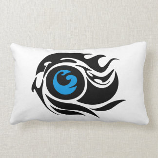 Tribal evil eye lumbar pillow