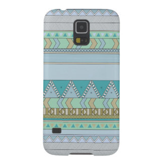 Tribal expression blue galaxy s5 cover