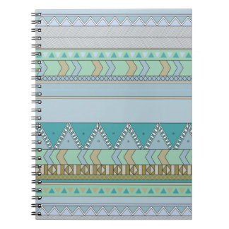Tribal expression spiral notebook
