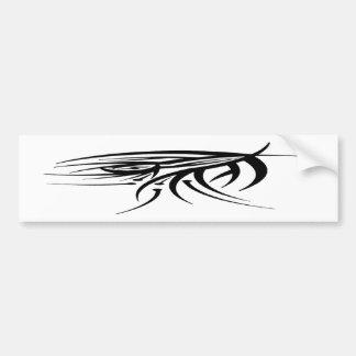 Tribal Eye Tattoo Bumper Stickers