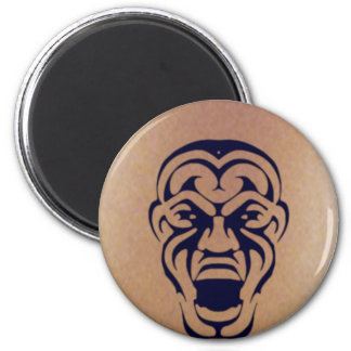 Tribal Face Tattoo Magnet