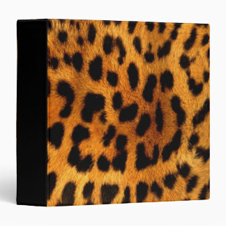 tribal fashionista safari animal leopard print binder