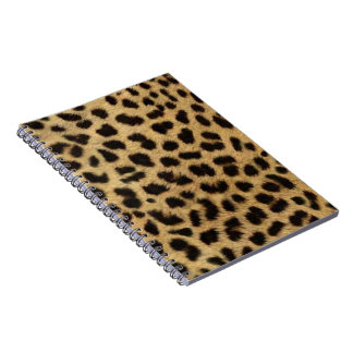 tribal fashionista safari animal leopard print spiral notebook