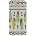 """Tribal Feathers-Cream"" iPhone 6 Plus Case"