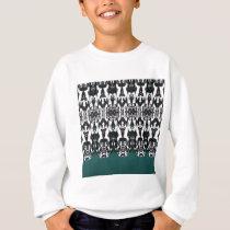 Tribal Feathers Sweatshirt