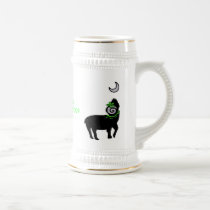 Tribal Fest BlackSheep BellyDance Logo Stien Beer Stein