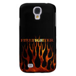 Tribal FF Flames Galaxy S4 Cases
