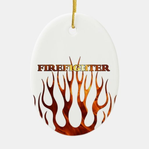 Tribal FF Flames Ornaments