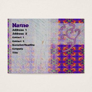 Tribal Fiery Business Card