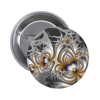 Tribal Fire 2 Inch Round Button