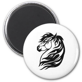 Tribal Fire Horse Magnet