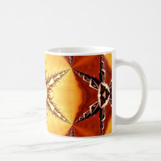 Tribal Fire Star Coffee Mug