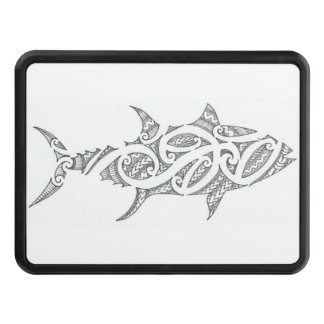 Tribal fish hitch cover