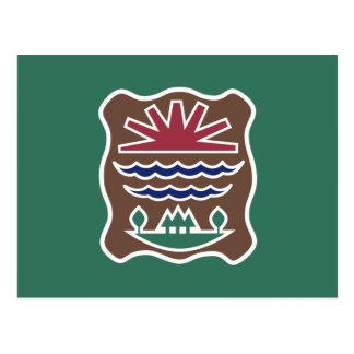 Tribal Flag of the Western Abenaki Nation Postcards