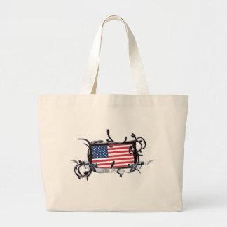 Tribal Flag USA Bag
