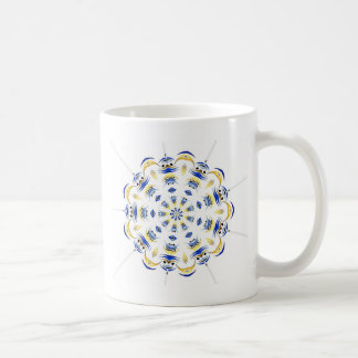 tribal-flake coffee mug