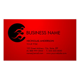 Tribal Flames business card