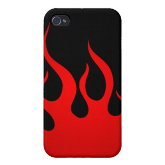 Tribal Flames  iPhone 4 Cover