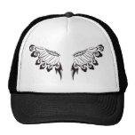 Tribal Floral Wings Mesh Hat