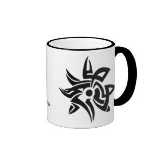 Tribal Flower Erode Mug