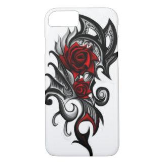 tribal flower phone case
