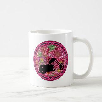 Tribal Flowers Chop Coffee Mug