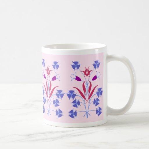 Tribal Flowers Mug
