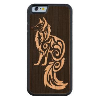 Tribal Fox Kitsune Carved® Cherry iPhone 6 Bumper Case