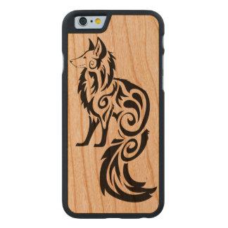 Tribal Fox Carved® Cherry iPhone 6 Slim Case