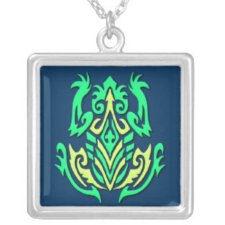 Tribal Frog necklace