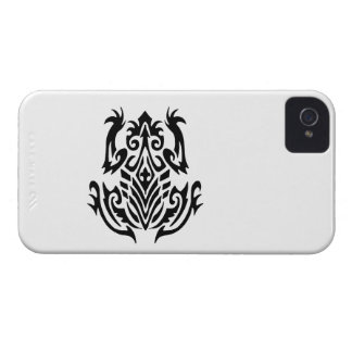 Tribal Frog Silhouette iPhone 4 Cover