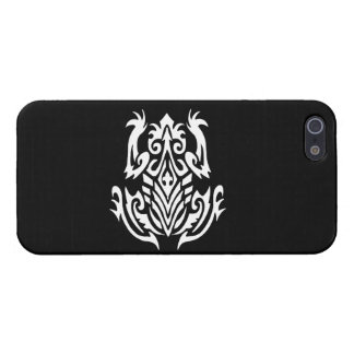 Tribal Frog Silhouette Cases For iPhone 5
