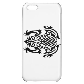 Tribal Frog Silhouette iPhone 5C Cases
