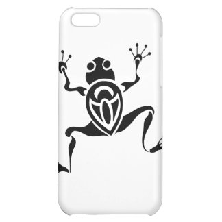 Tribal Frog Tattoo Cover For iPhone 5C